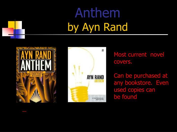 anthem ayn rand cover