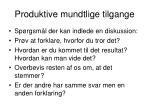 produktive mundtlige tilgange1