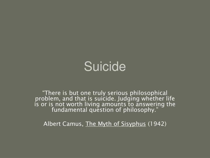 suicide n.