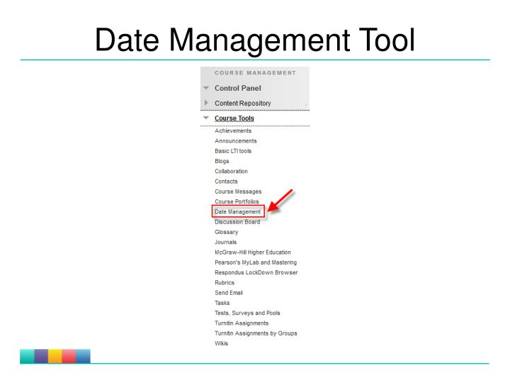 Date Management Tool