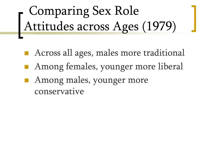 Comparing Sex Role