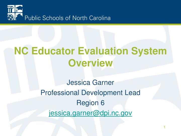 Nc educator evaluation system overview