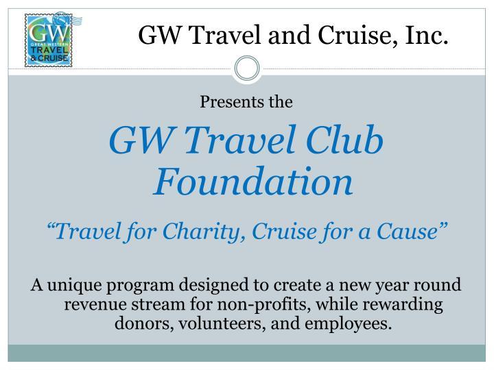 gw travel and cruise inc n.