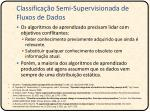 classifica o semi supervisionada de fluxos de dados1