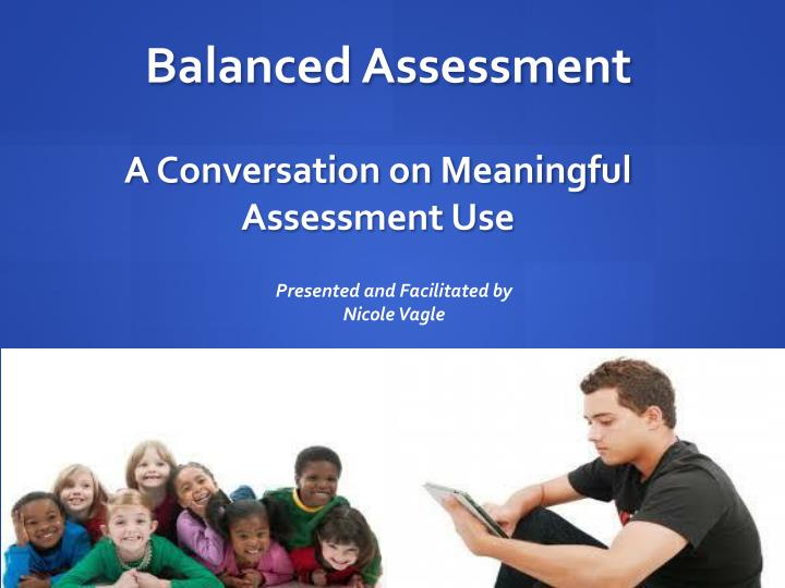 a conversation on meaningful assessment use n.