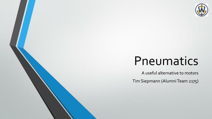 pneumatics n.