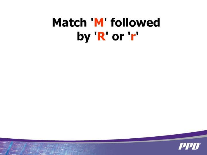 Match '