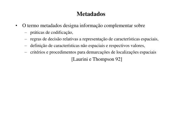 Metadados1