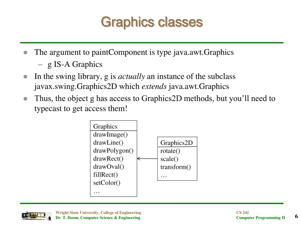 PPT - Introductory Graphics in Java PowerPoint Presentation