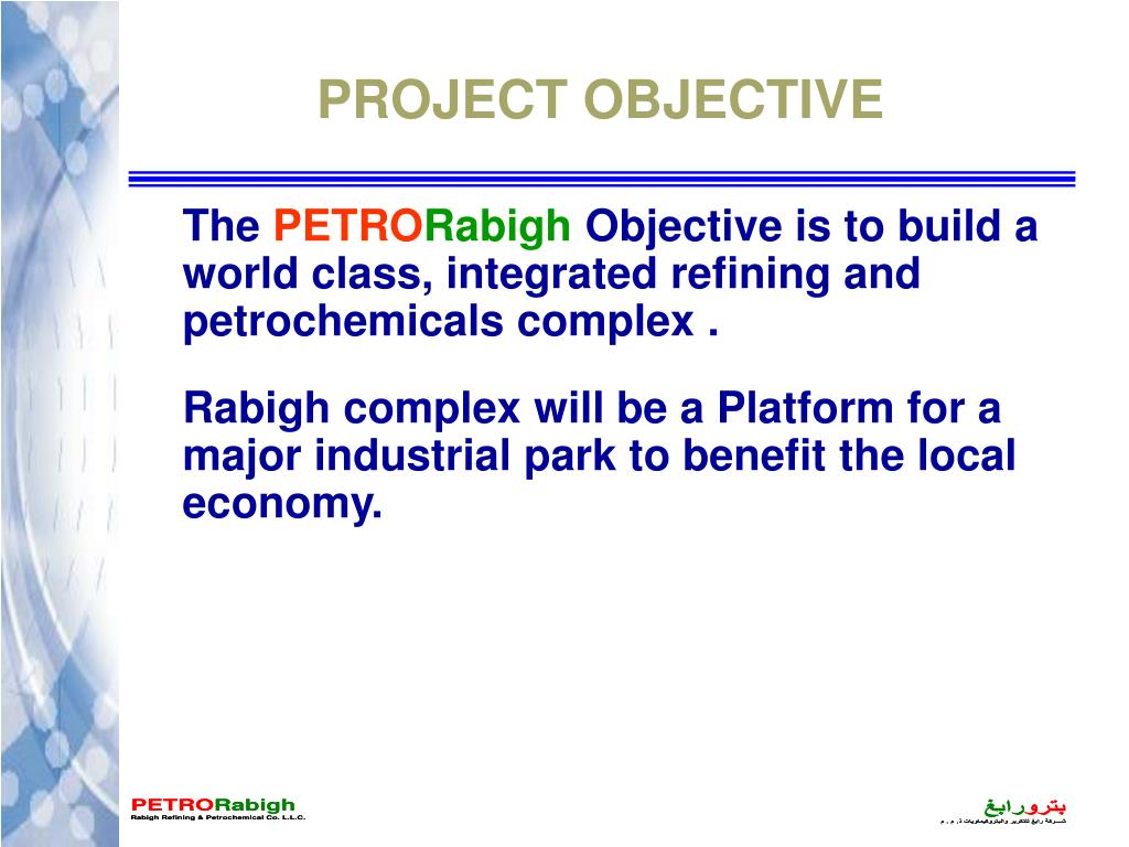 PPT - PETRO Rabigh OVERVIEW PowerPoint Presentation, free