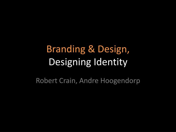 branding design designing identity n.