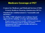 medicare coverage of pet