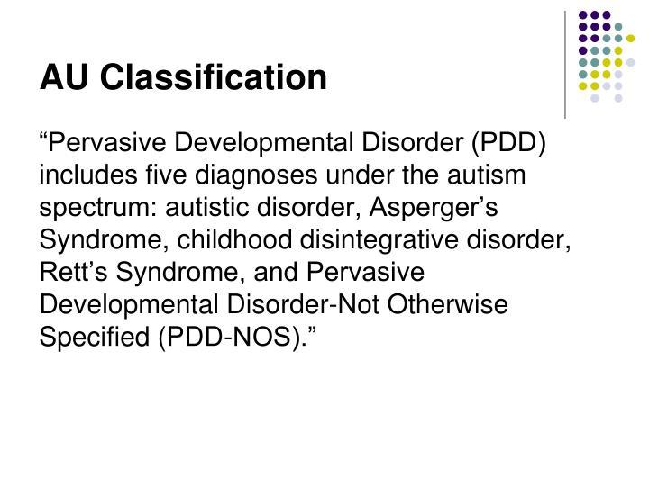 AU Classification