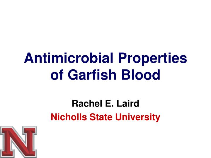 "antimicrobial property thesis To the graduate council: i am submitting herewith a thesis written by sylvia gaysinsky segura entitled ""physicochemical and antimicrobial properties of antimicrobials encapsulated in."