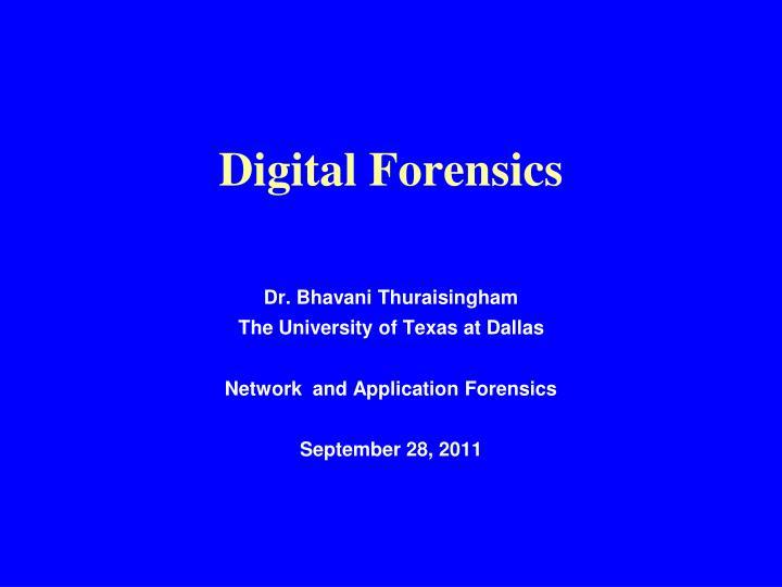 digital forensics n.