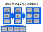 uses of sequence variations