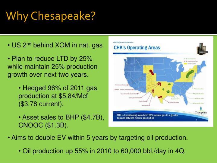 Why Chesapeake?