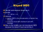 keyed md5