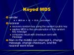 keyed md51