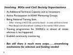 involving ngos and civil society organizations