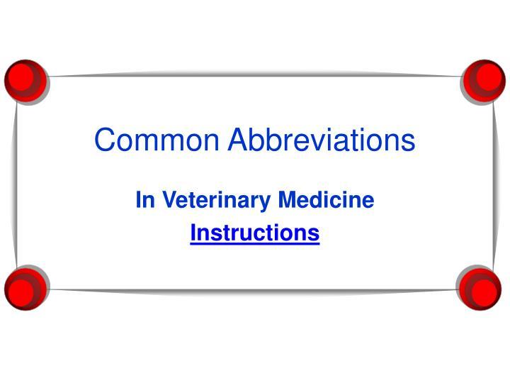 common abbreviations n.