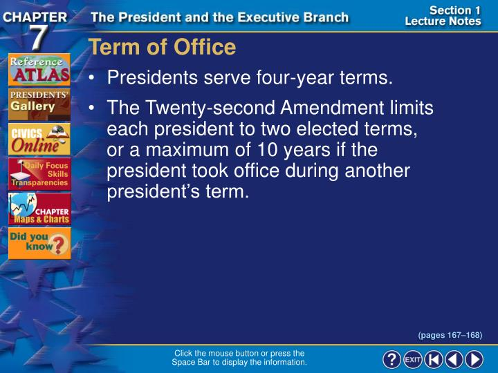 Term of Office