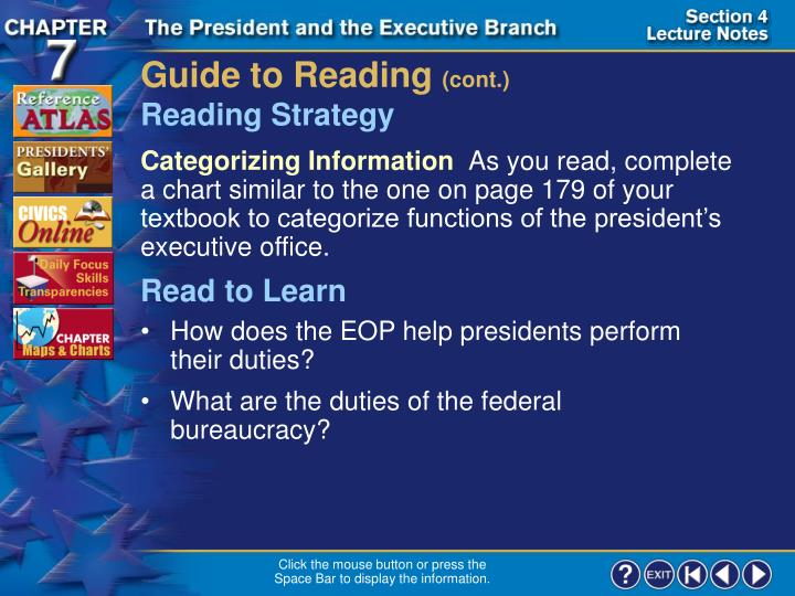 Guide to Reading