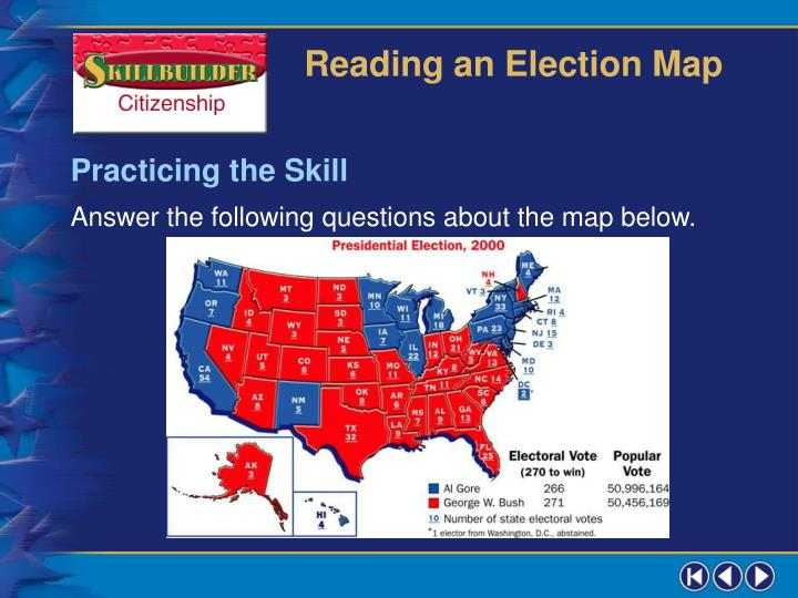 Reading an Election Map
