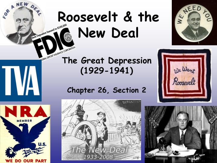 the objectives of franklin roosevelts new deal program after the great depression In franklin roosevelt and the new deal by william e leuchtenburg, the economic plight of the depression is seen in the three years of herbert hoover's presidency, the bottom had dropped out of the stock market and industrial production had been cut more than half.