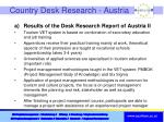 country desk research austria1