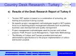 country desk research turkey1