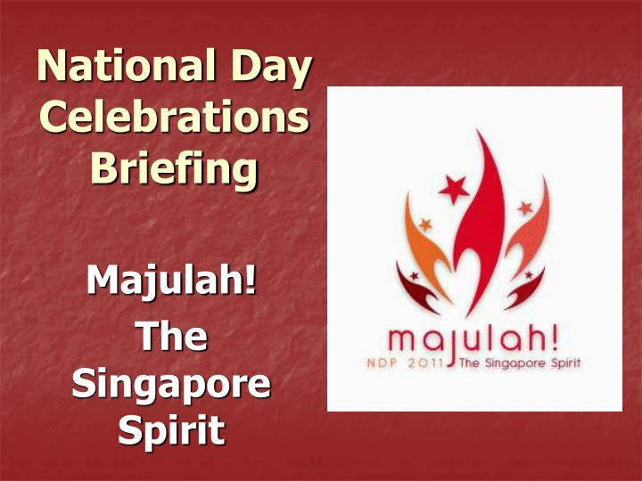 national day celebrations briefing n.