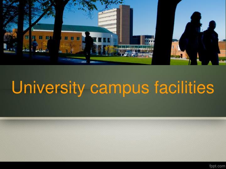 university campus facilities n.
