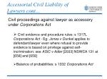 accessorial civil liability of lawyers cont5