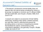 accessorial criminal liability of lawyers cont1