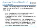 accessorial criminal liability of lawyers cont2
