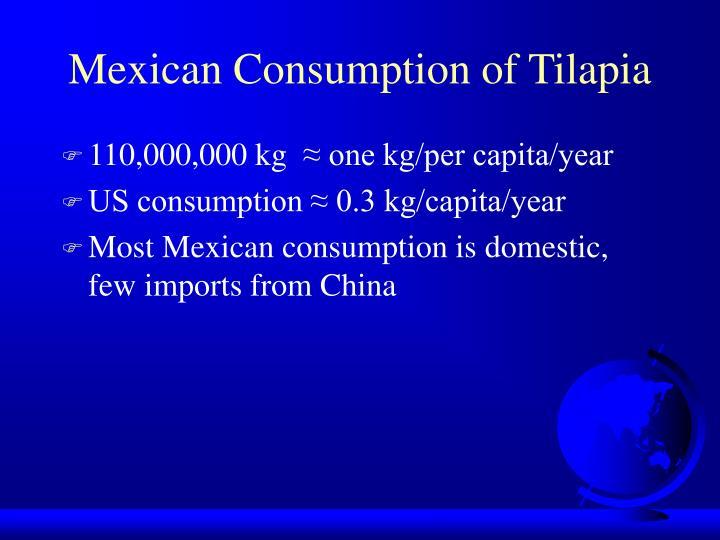Mexican Consumption of Tilapia
