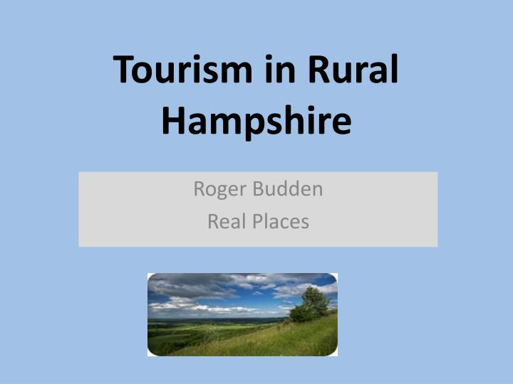 tourism in rural hampshire