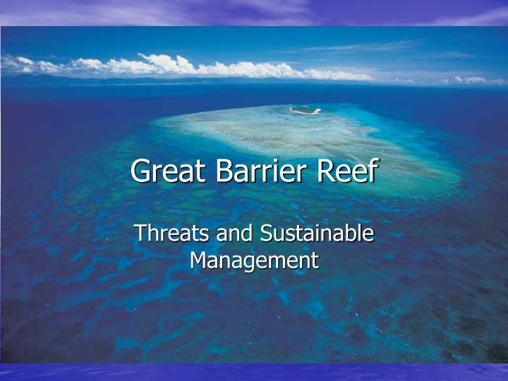 great barrier reef n.