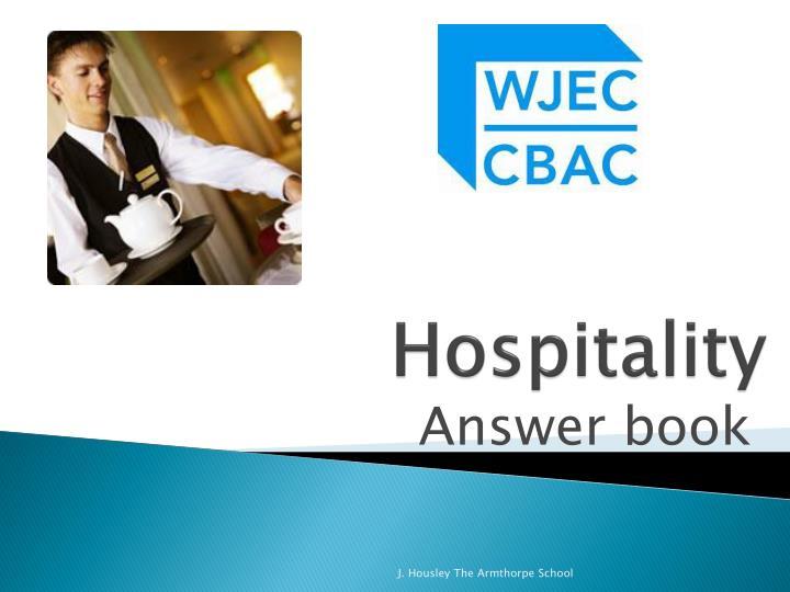 hospitality n.