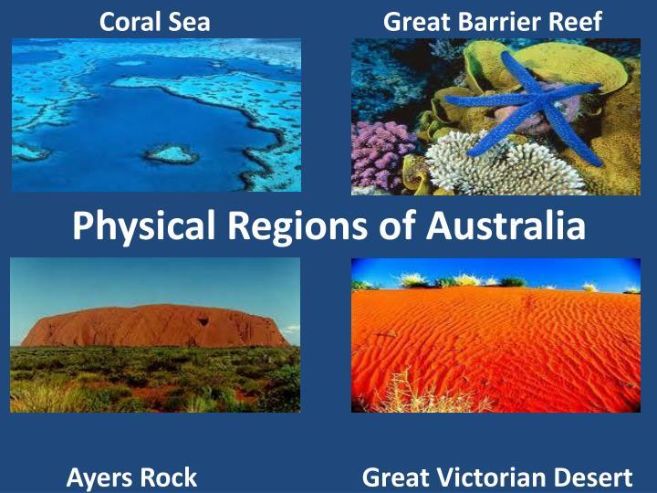 Physical Regions of Australia