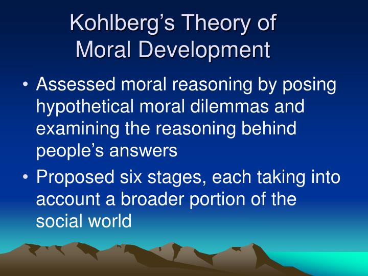 Kohlberg's Theory of