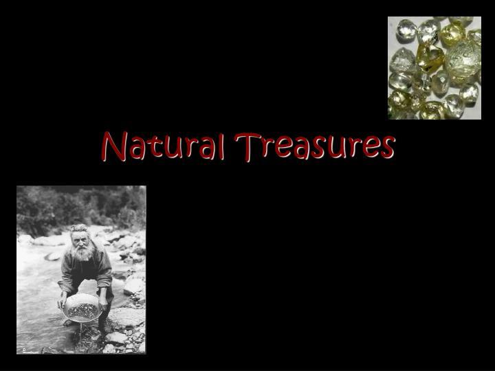 natural treasures n.