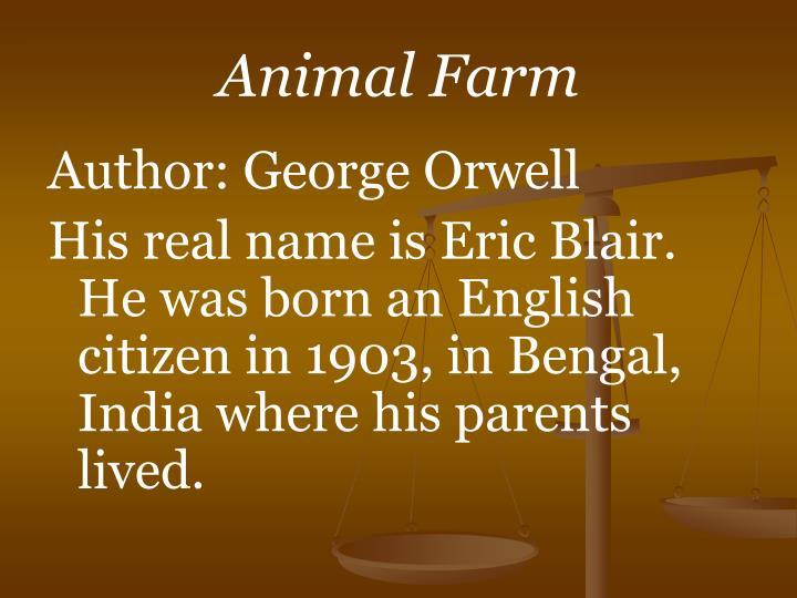 animal farm n.