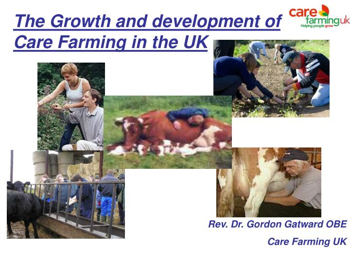 the growth and development of care farming in the uk n.