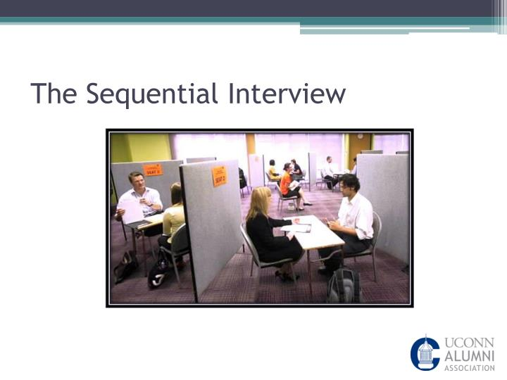 what is a sequential interview