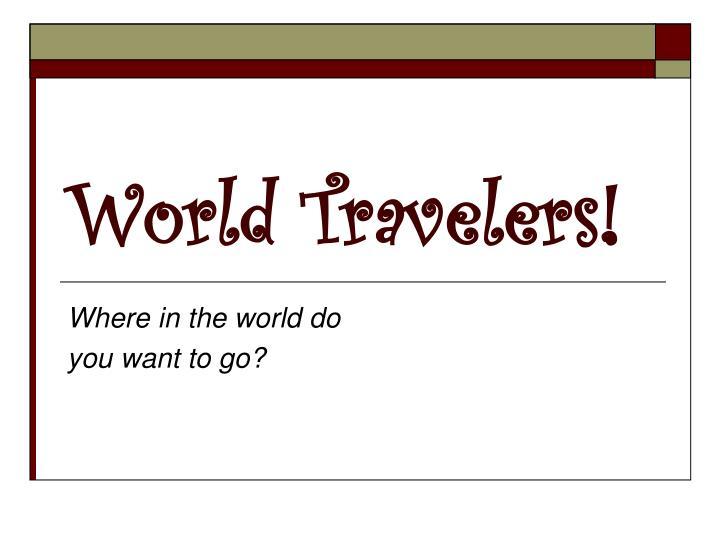 world travelers n.