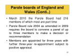 parole boards of england and wales conti