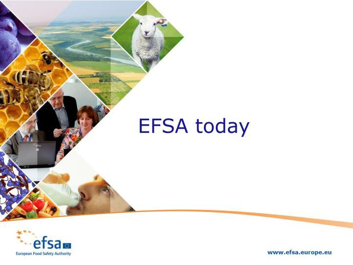 EFSA today