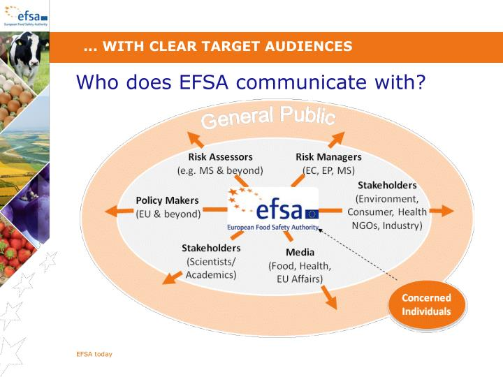 ... with clear target audiences